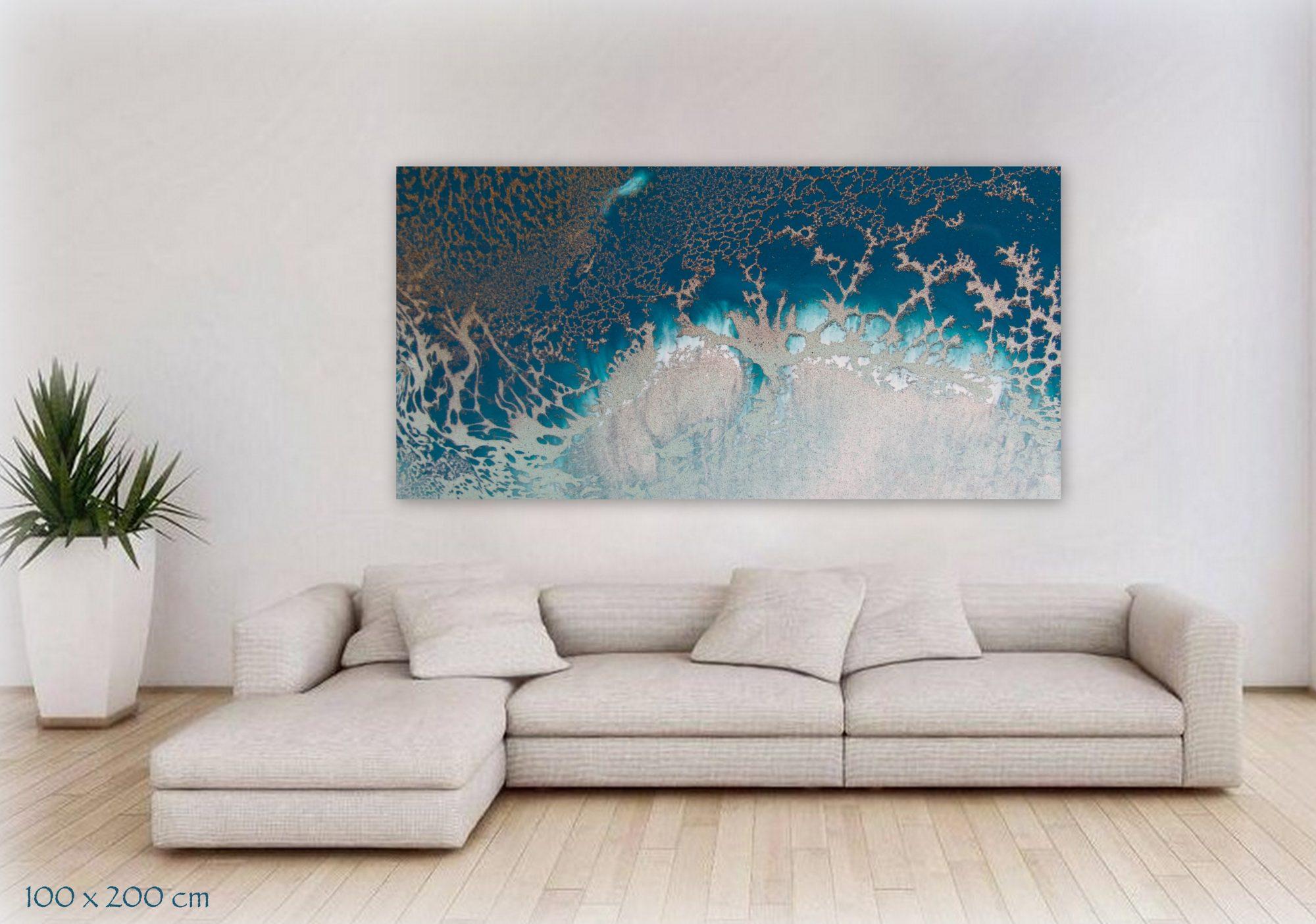 Reefscape Canvas Art Print For Sale By Petra Meikle De Vlas.jpg12