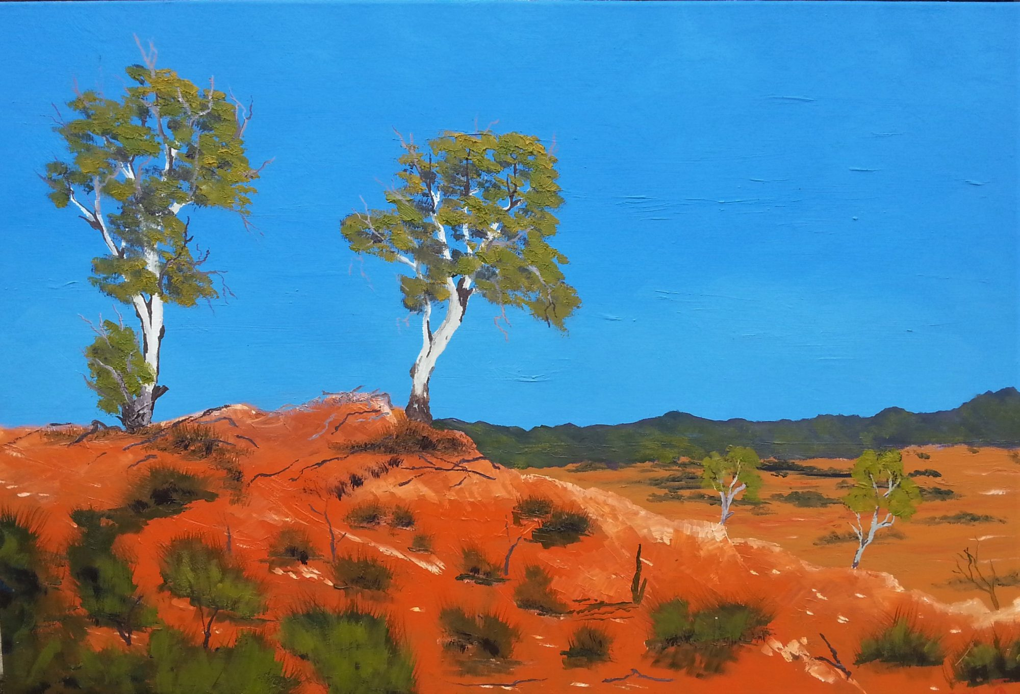 West Macdonnell Ranges Near Alice Springs