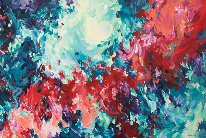Wild Love By Australian Artist Amber Gittins