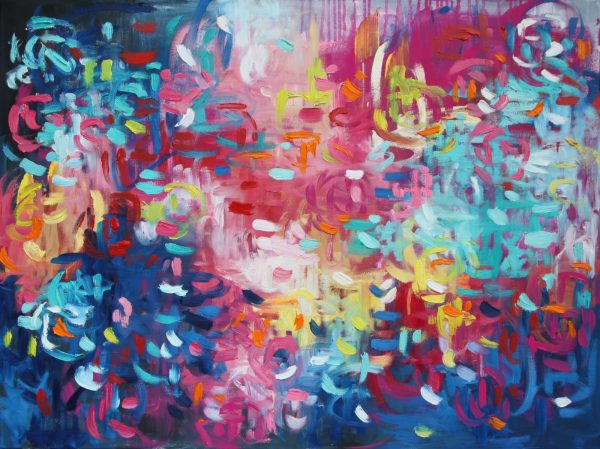 Belinda Nadwie Art Abstract Painting Moments Around The Sun