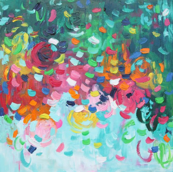 Belinda Nadwie Art Abstract Painting Sweet Heart