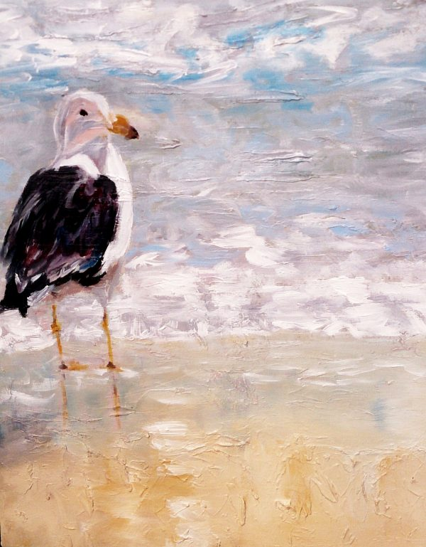 Seagull Painting Art Online Seagull Silent