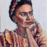 Frida Recordando el Pasado Remembering the Past