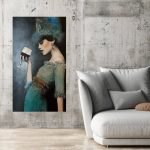 Audrey Ltd Ed print on Canvas