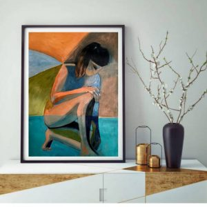 Abstract Nude Female Lee Wilde Art Lovers Australia