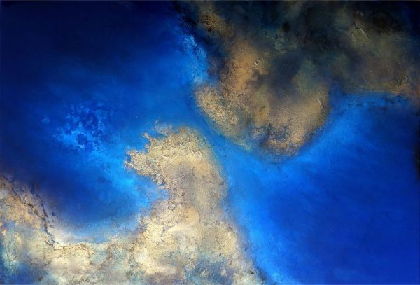 Calm Waters A Resin Coated Painting For Sale By Petra Meikle De Vlas10