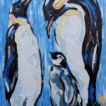 Emperor Penguin Love
