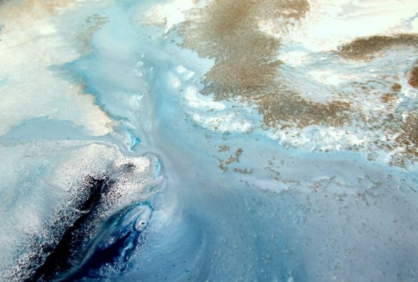 Estuary Flow Canvas Art Print For Sale By Petra Meikle De Vlas5