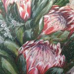 Your Love Is Like Wildfire – Proteas and Wax flowers