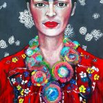 Frida Guiding Ltd Ed Giclee Fine Art Print