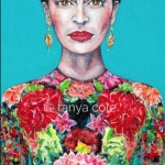 Frida's Courage Ltd Ed Giclee Fine Art Print