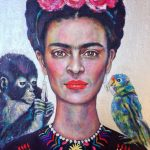 Frida's Gift Ltd Ed Giclee Fine Art Print