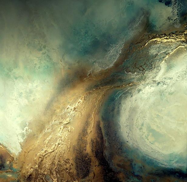 Golden Odyssey Canvas Art Print For Sale By Petra Meikle De Vlas10