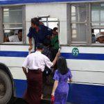 Rush Hour 1/4, Yangon, Myanmar – Ltd Ed Print