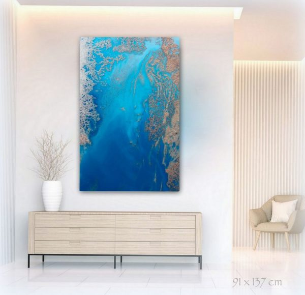 Into The Deep Canvas Art Print For Sale By Petra Meikle De Vlas.jpg11