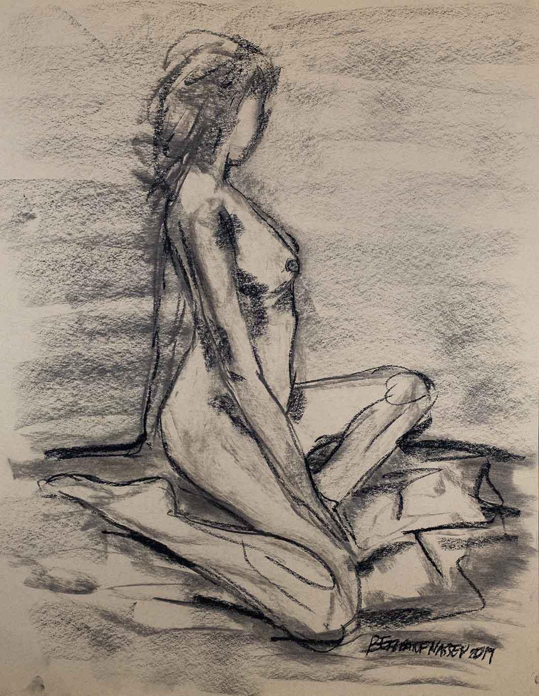 Life Drawing 13032019 F