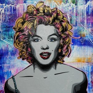 Marilyn Got The Look By Franko Art Art Lovers Australia Sq