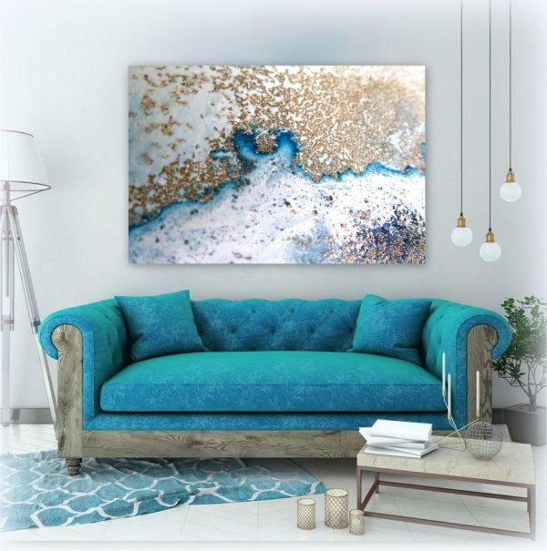 Reef Sanctuary Canvas Art Print For Sale By Petra Meikle De Vlas1