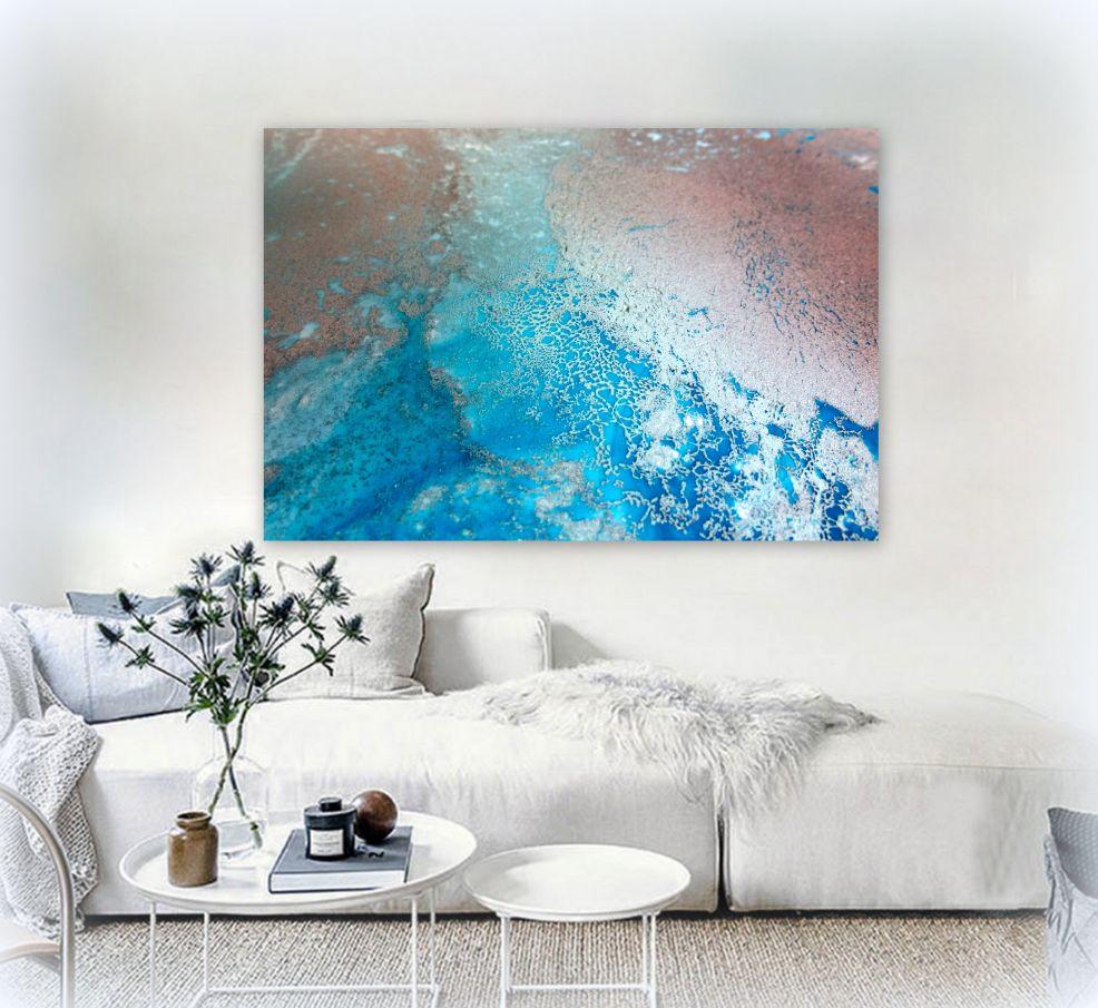 Sunlit Reef Canvas Art Print For Sale By Petra Meikle De Vlas 9
