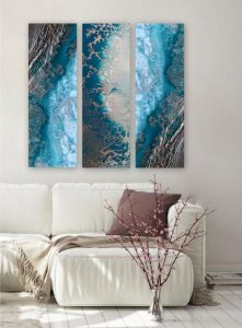 Teal Reef Snibits 3 Canvas Art Prints For Sale By Petra Meikle De Vlas1