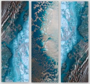 Teal Reef Snibits 3 Canvas Art Prints For Sale By Petra Meikle De Vlas3