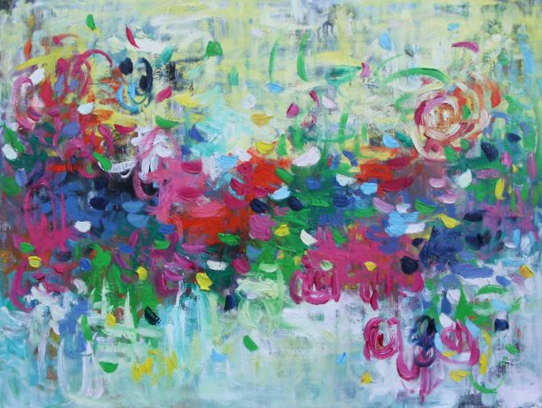 Belinda Nadwie Art Abstract Painting Shine On