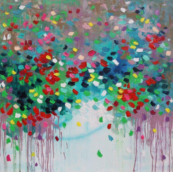 Belinda Nadwie Art Abstract Painting Sydney Artist Always Yours