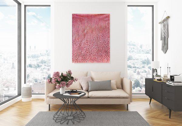 Artist Leni Kae Find Me In A Field Of Peonies Lounge Room Interior Design Sm