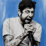 Chino Moreno – Painting of Deftones