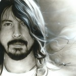 D.G. – Painting of Dave Grohl from Foo Fighters