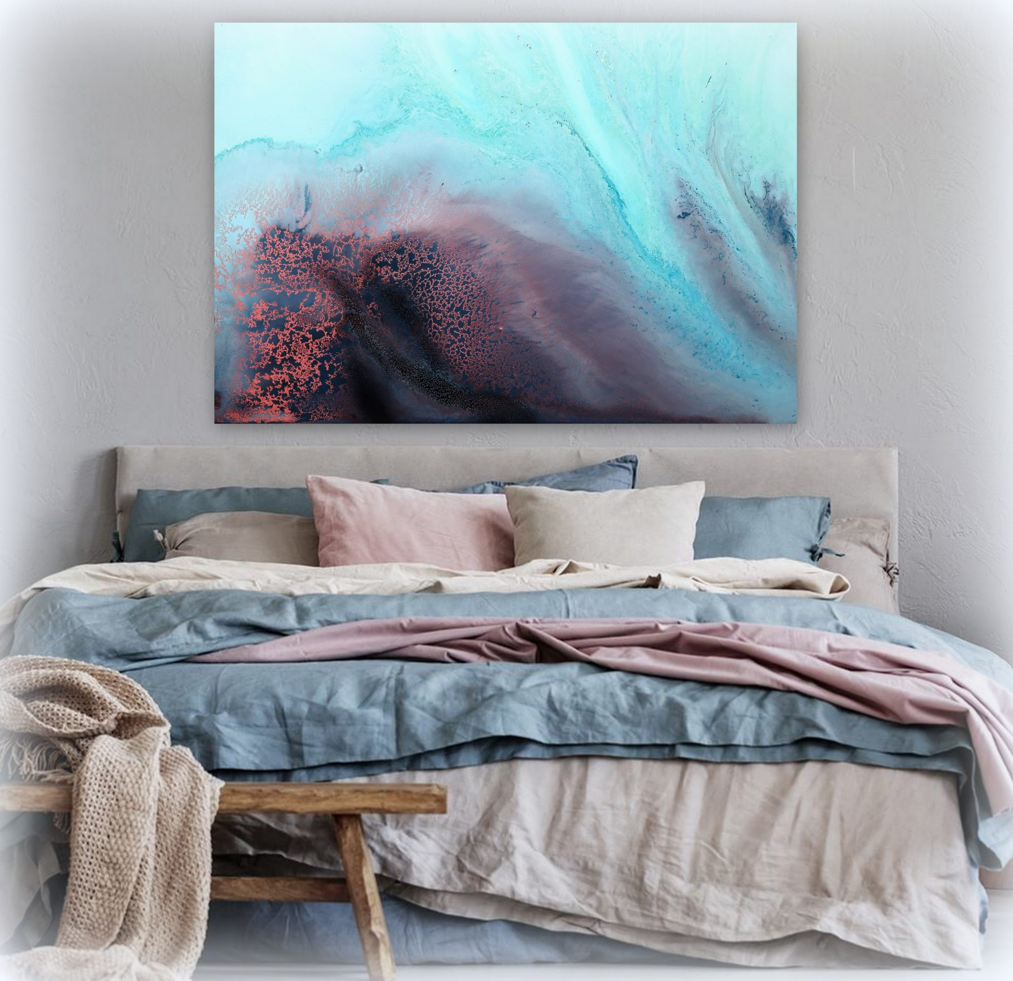 """drifting"" Canvas Art Print By Petra Meikle De Vlas8"