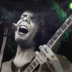 Emerald Sonic Haze – Painting of Wolfmother