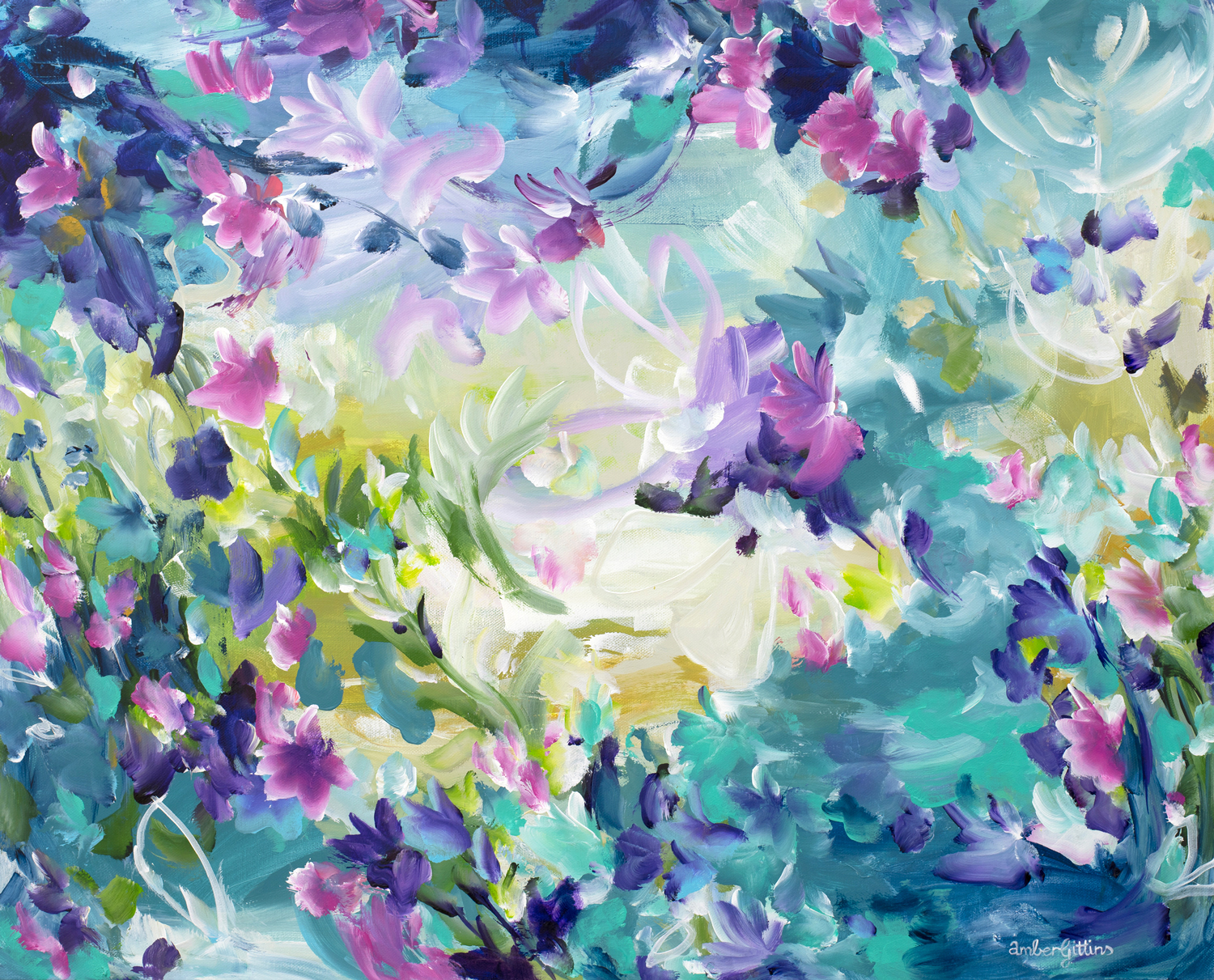 Floral Dreams By Australian Artist Amber Gittins