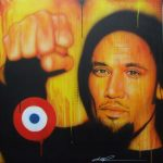 I Will Look the World Straight in the Eye – Painting of Ben Harper