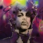 Prince's Rain – Painting of Prince