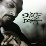 Snoop Dogg – Painting of Snoop Dogg