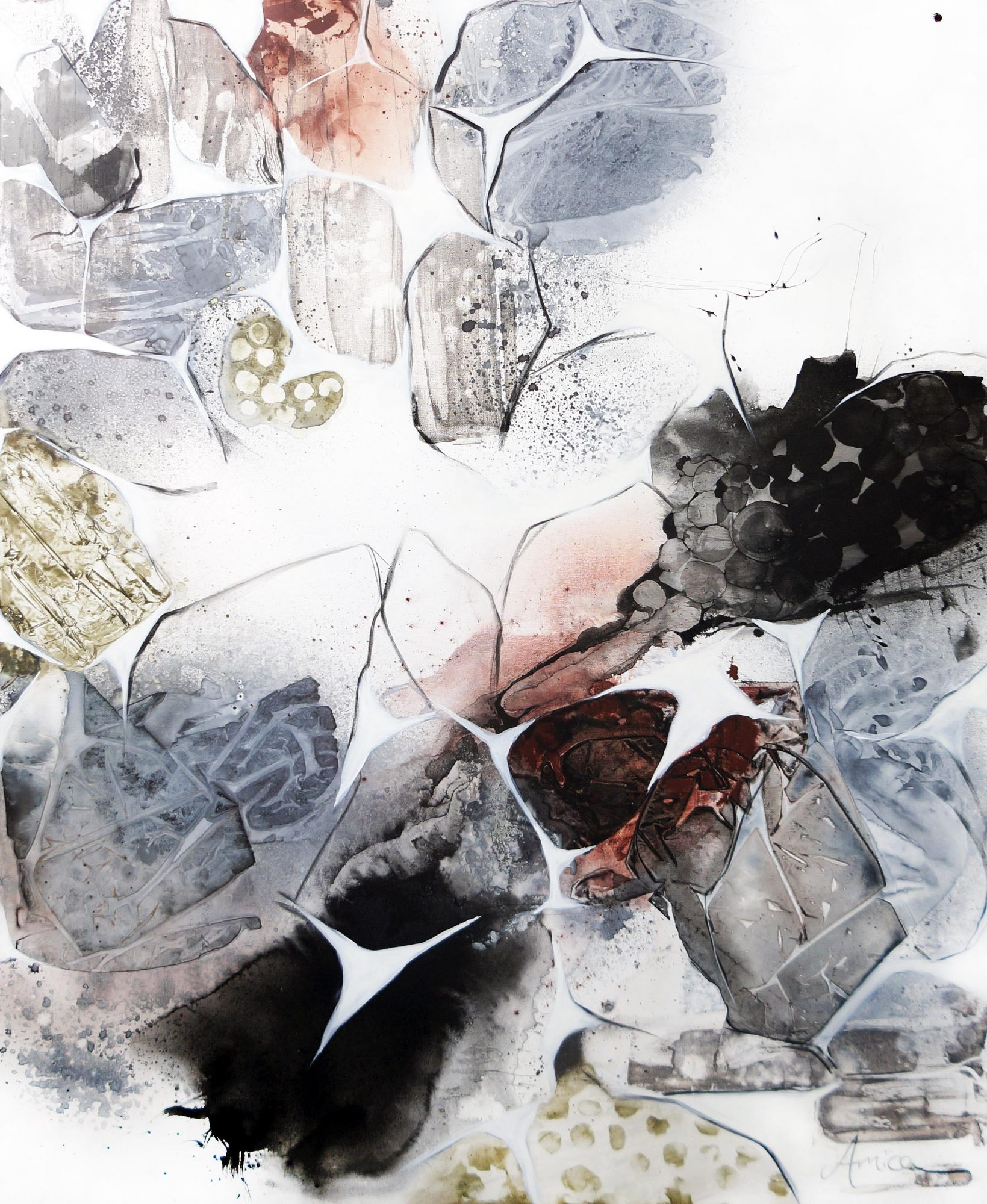 Sweet Ambivalence 153x122 Mixed Media On Canvas Mid