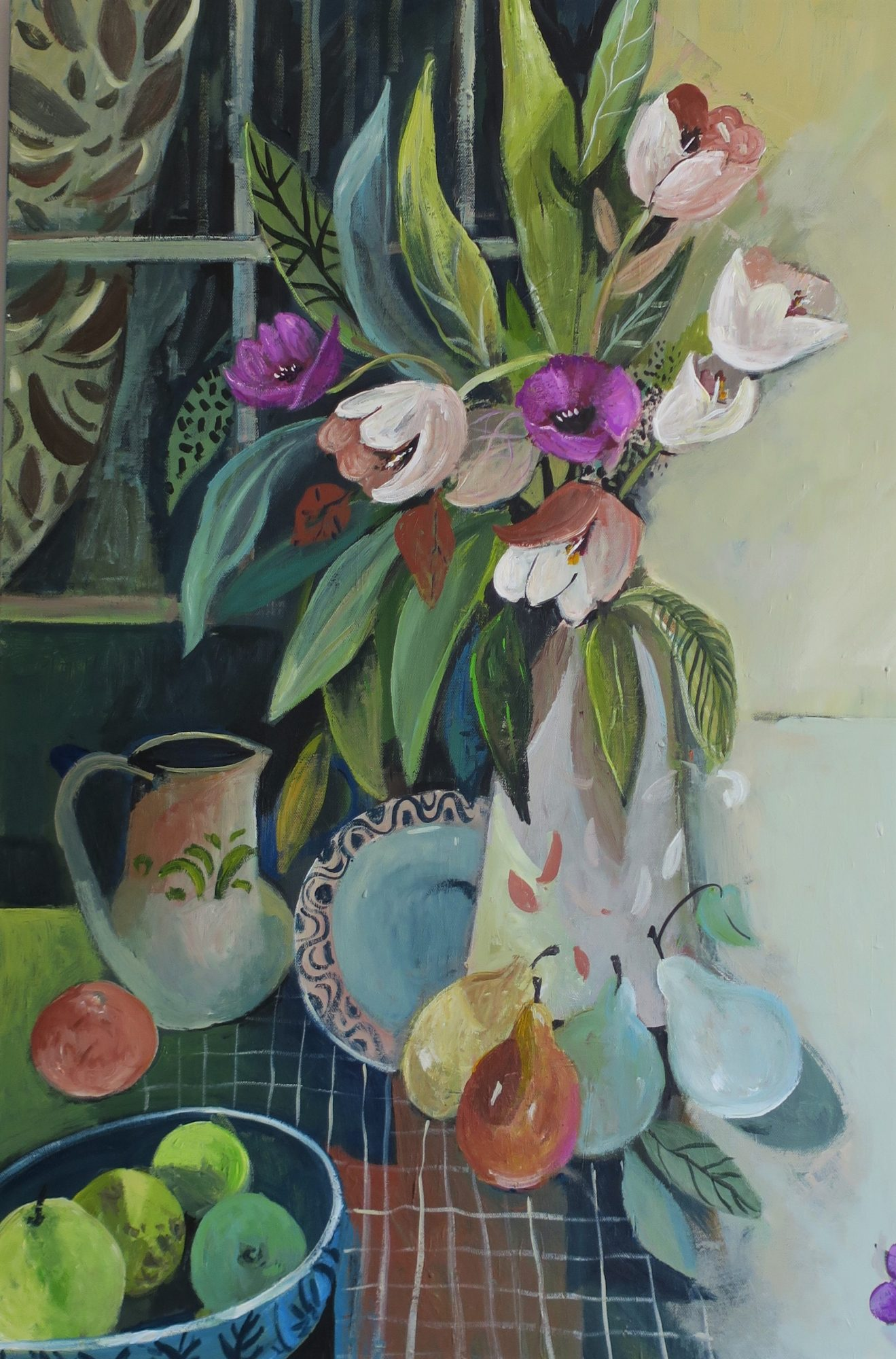 Tulips And Fruit 2