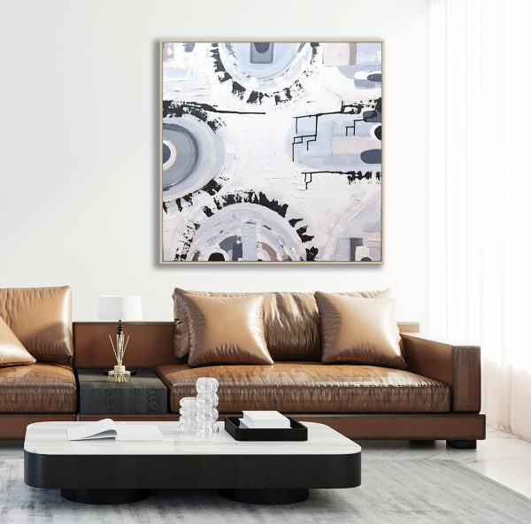 Scandinavian Style Living Room Interior Mock Up, Modern Living R