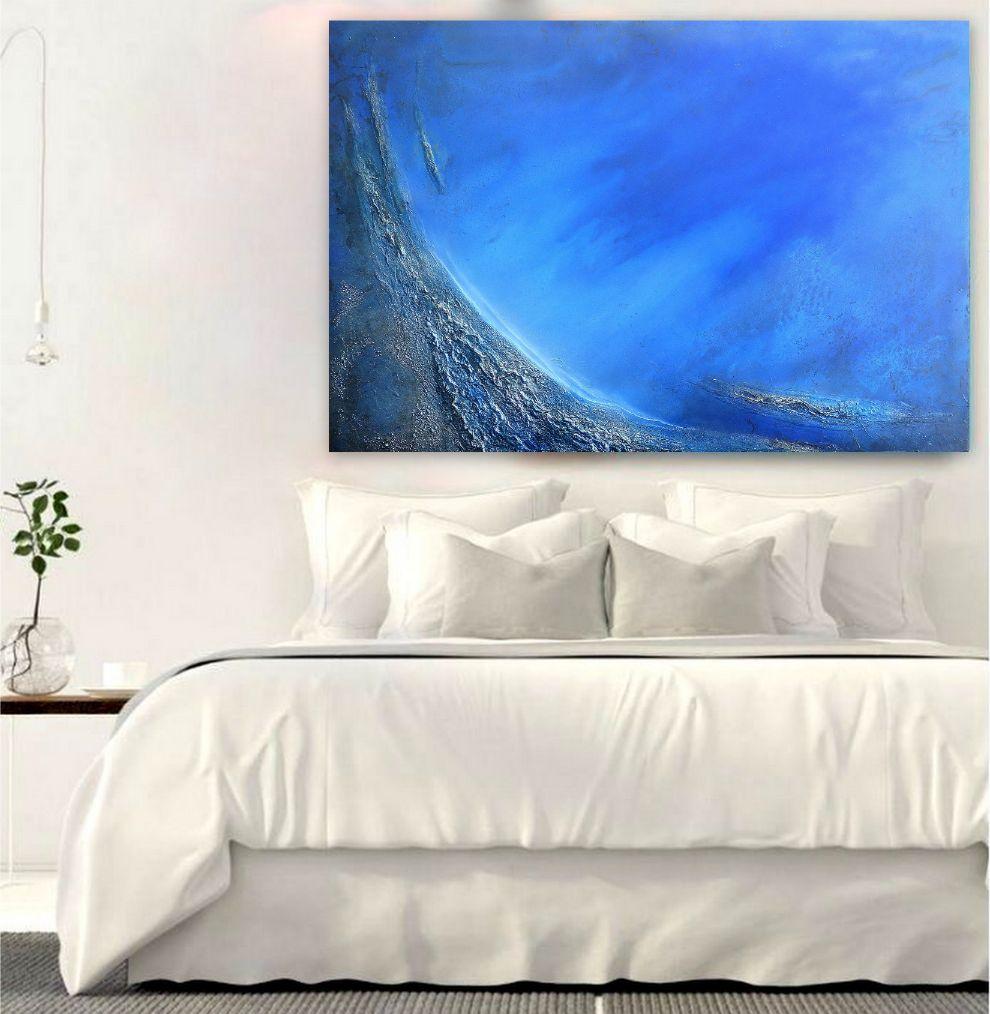Blue Ocean Art Painting Petra Meikle De Vlas1