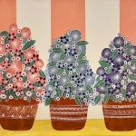 Three Flower Pots CZ19031