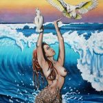 Coolum Corellas_Laural Retz_Art Lovers Australia