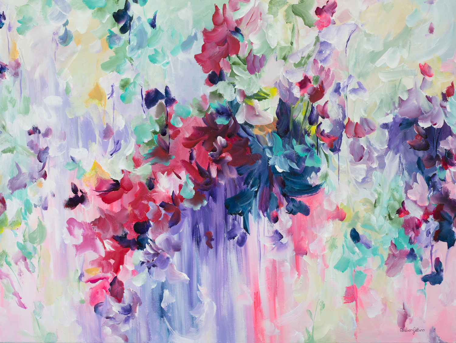 Dreams By Amber Gittins Abstract Artist