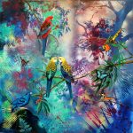 In the Cool of the Forest – Ltd Ed giclee print on canvas