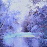 Landscape in Purple
