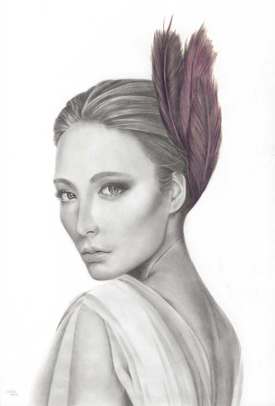 Main Plume Girl By Kati Garrett Filho