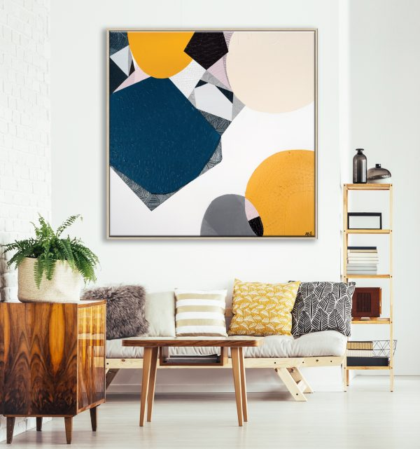 Cozy Vintage Living Room