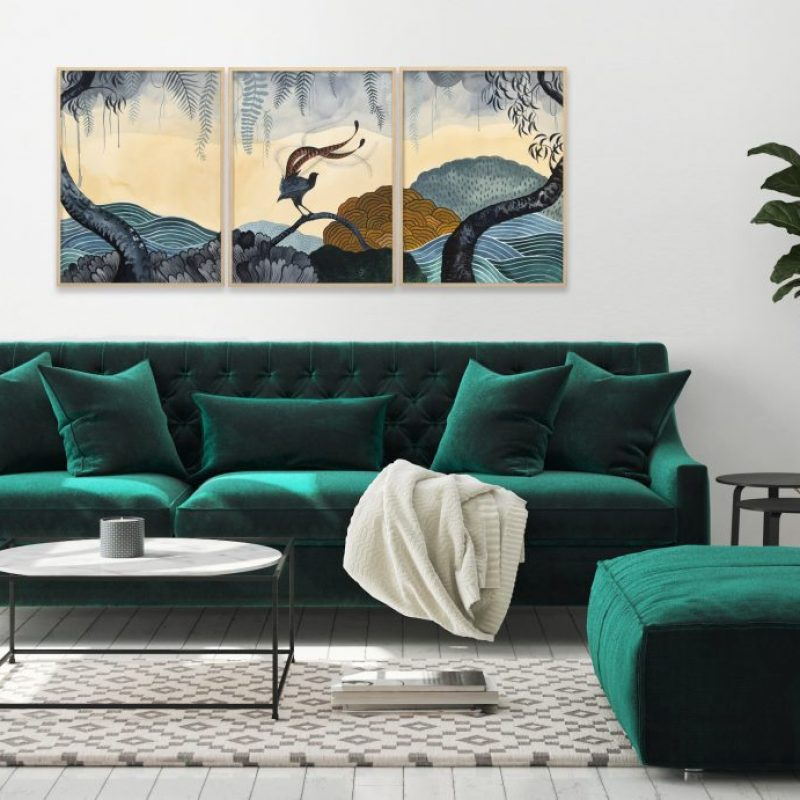 Sallybrowne Superb Lyrebird Forest Styled 1024x691