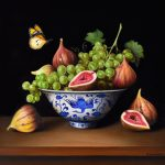 Sultana grapes and figs – Ltd Ed Print on Canvas