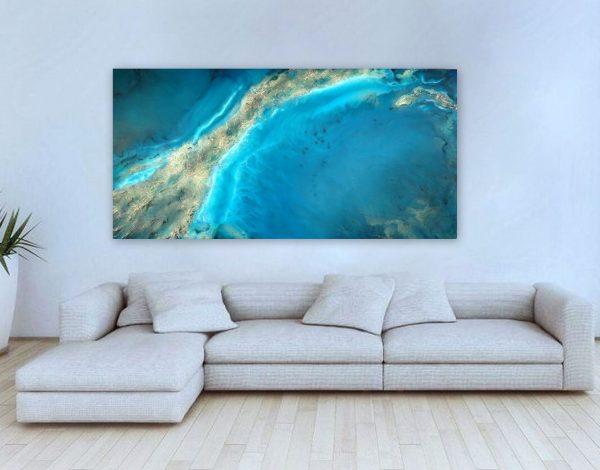 Teal Cove Painting By Petra Meikle De Vlas.jpg2 Copy